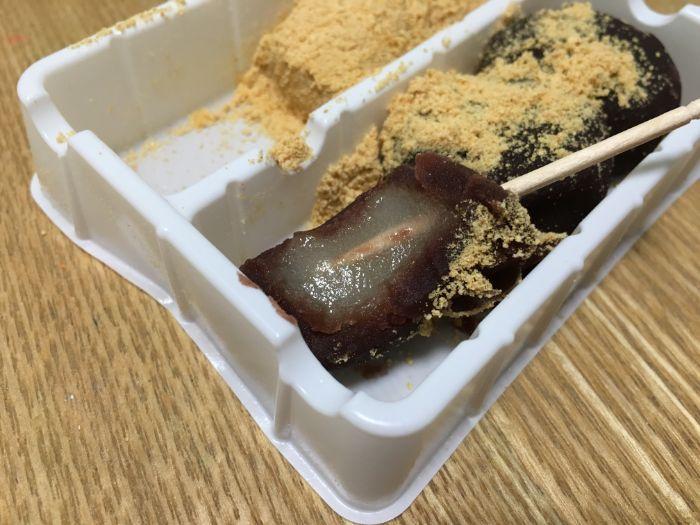 安倍川餅の断面2