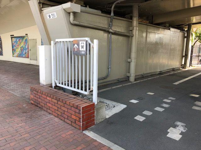 八潮尾駅への動線