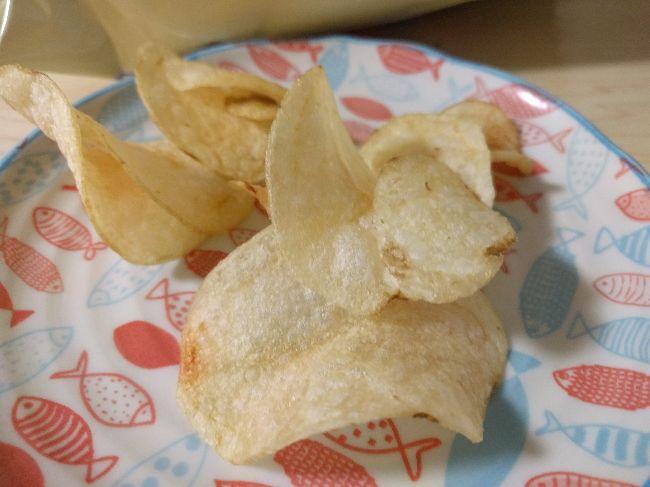 キクスイドーポテトチップスお皿