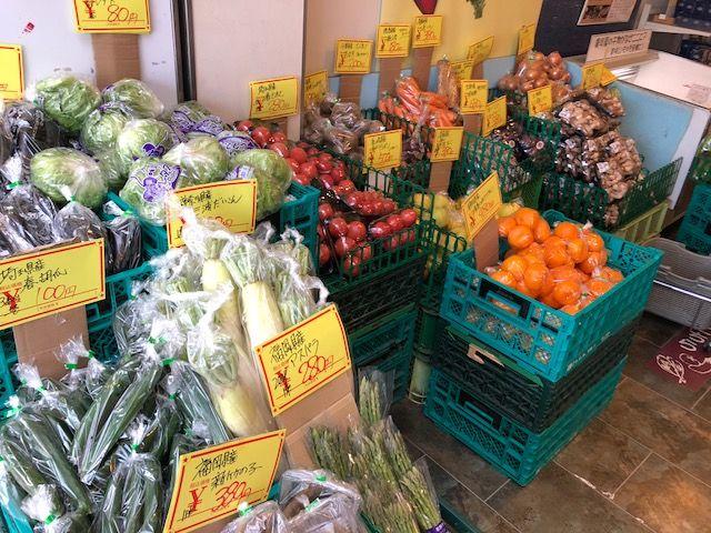 八潮PA野菜売り場