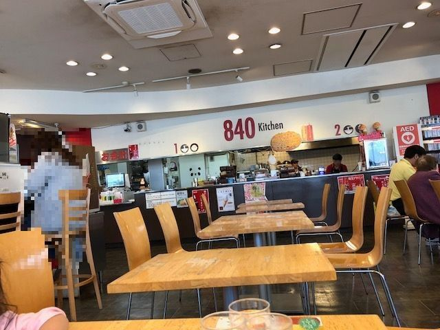 八潮PA食堂
