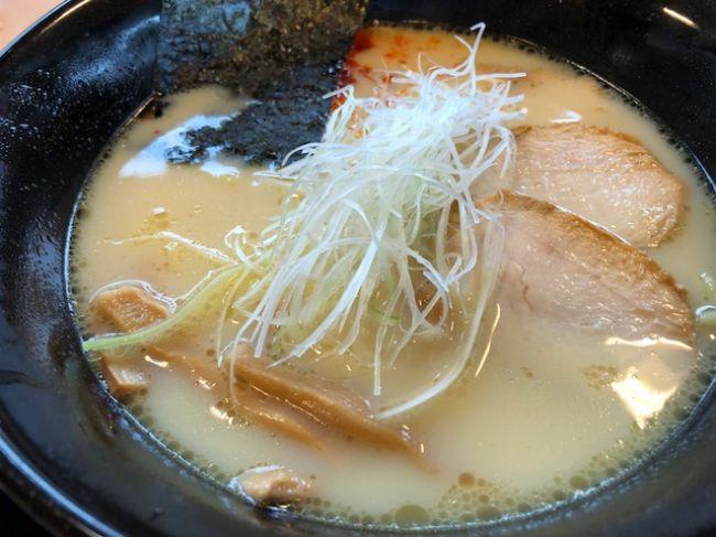 鶏白湯ラーメン単品