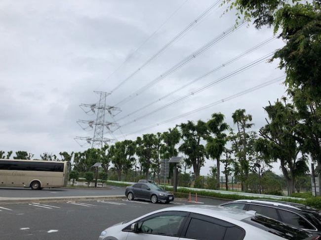 川口PA駐車場