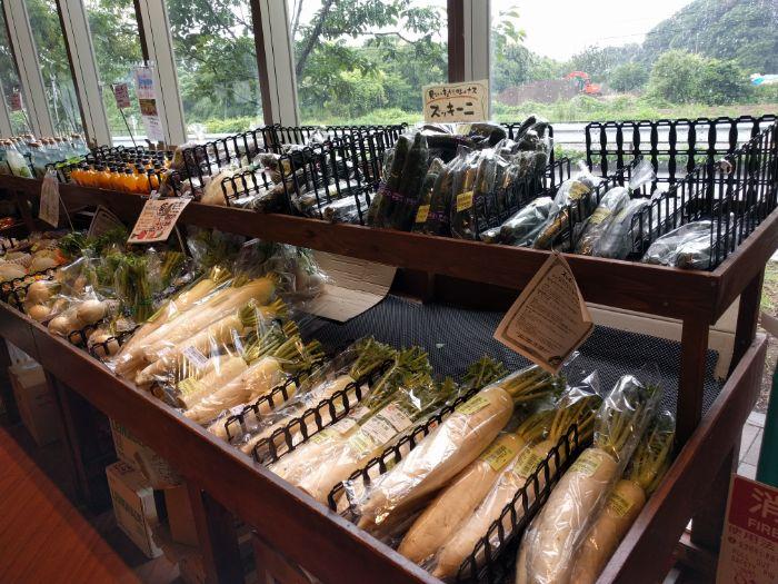 PASAR幕張の野菜売り場