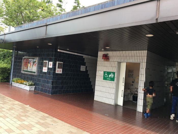千代田PAトイレ