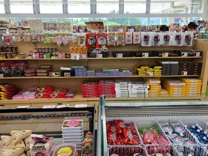 千代田PAお土産売り場2