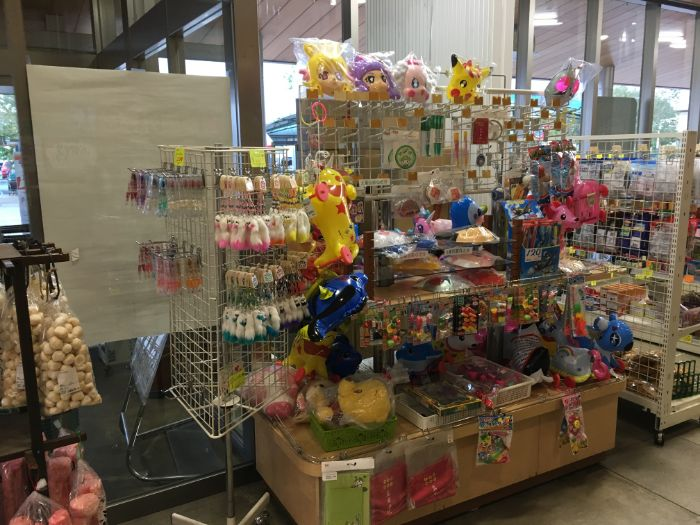 子供のおもちゃ売り場