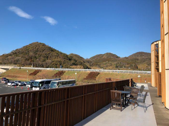 道の駅富楽里とみやまからの眺め