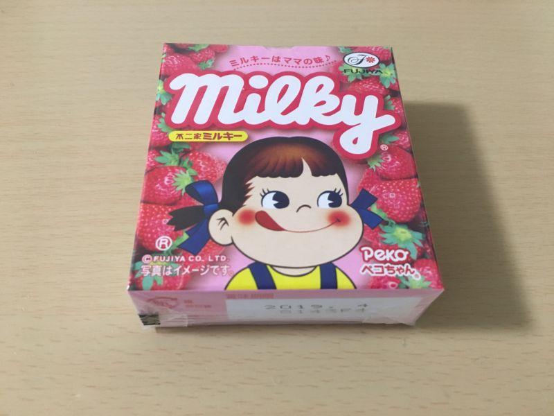 ミルキーとちおとめ1箱