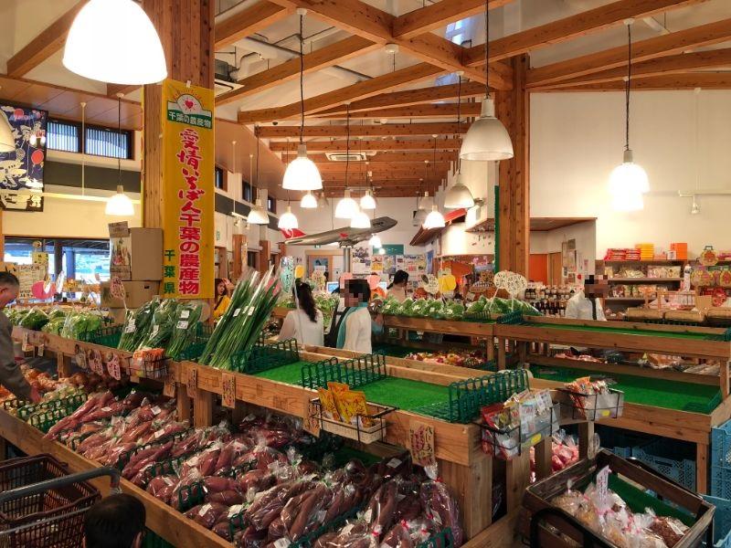 風和里しばやま野菜売り場
